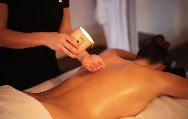 Soin - Massage à la bougie