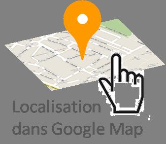 Visualiser dans Google Maps